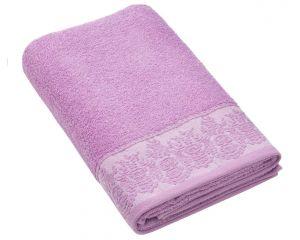 Полотенце BRIELLE GARDEN (Гарден) 50x90 махровое 400г/м2  (пурпурное)