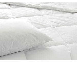 Одеяло TAC CLASSIC (Классик) пух/перо 2-сп евро 195х215 белое