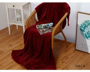 Плед Cleo CARRE 2-сп. евро велсофт 200x220 300 гр/м2 CR-008