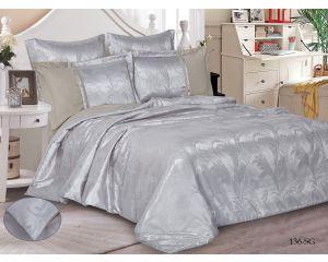 Постельное белье Cleo сатин-жаккард SG семейное 150х215 2шт 50х70 2шт 70х70 2шт SG-136