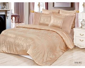 Постельное белье Cleo сатин-жаккард SG семейное 150х215 2шт 50х70 2шт 70х70 2шт SG-104